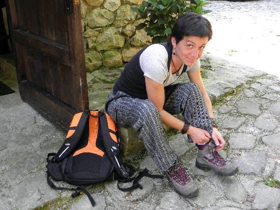 Yolanda en la Tahona de Besnes