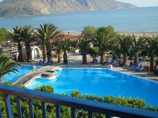 Mare Monte Beach Hotel: Vue du balcon