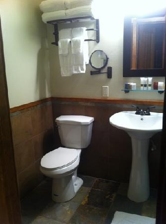 Avalon Lodge: awesome bathroom