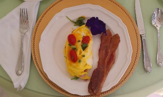 A Storybook Inn: one of our delicious breakfast
