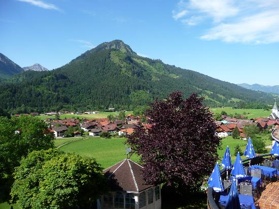 Hotel Prinz-Luitpold-Bad: Blick aus meinem Fenster