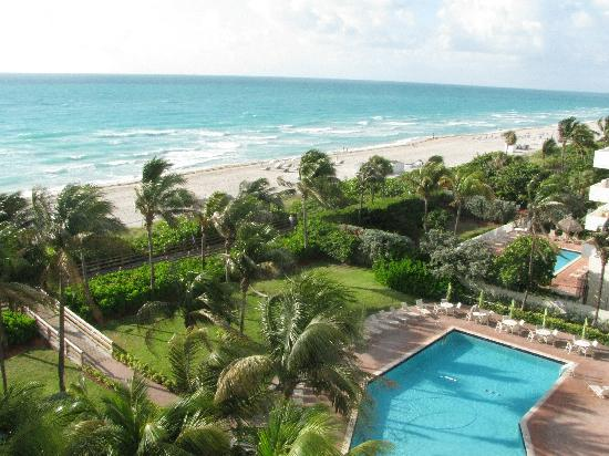 Holiday Inn Miami Beach Taken From Room 834 At