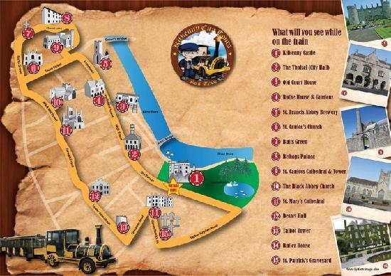 Kilkenny City Tours: Road Train Route