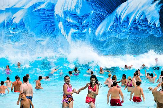 Mt. Olympus Resort : Neptune's Outdoor Waterpark - Poseidon's Rage