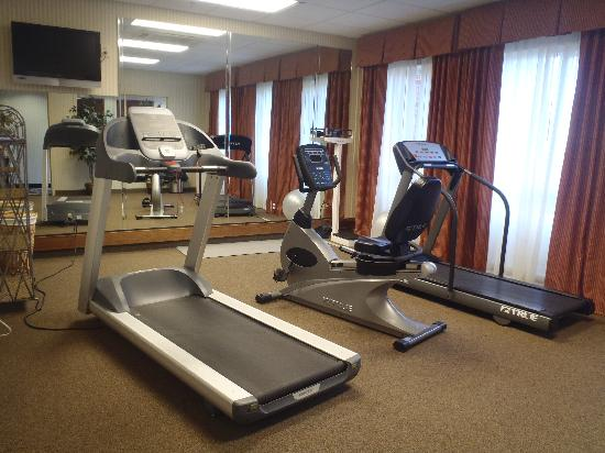 Holiday Inn Express Hotel & Suites Scott - Lafayette West: Fitness Center