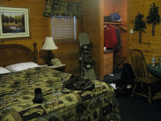 Cozy Hollow Lodge: Our room