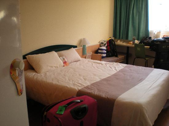 Ibis Barcelona Castelldefels: Bedroom 3rd floor room