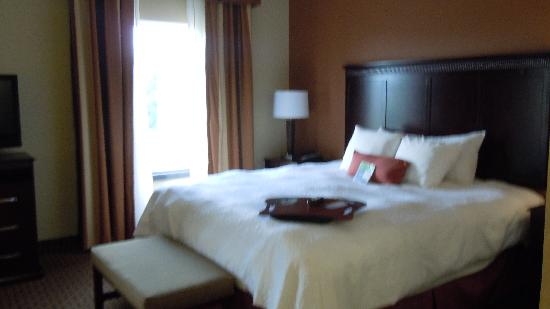 Hampton Inn Sevierville: king bed