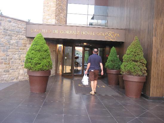 Castillo Gorraiz Hotel Golf & Spa: entrada