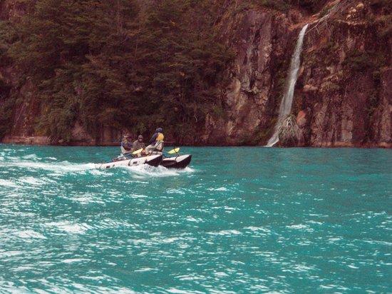 Регион Айсен, Чили: Lago Azul
