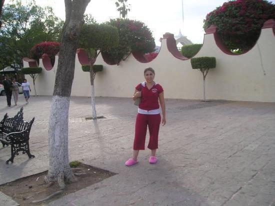 Jalpan de Serra, Meksiko: Frente al Hotel Mision jalpan