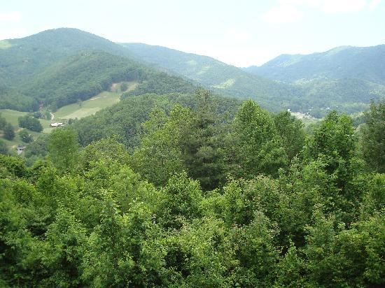 Bryson City, Kuzey Carolina: Moutain Views