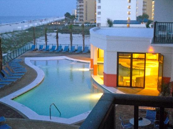 hotel pool hot tub picture of hampton inn suites orange beach rh tripadvisor com hampton inn orange beach al rates hampton inn orange beach alabama