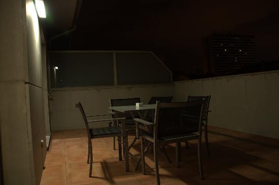 Suites Viena Plaza De Espana : Terrazza