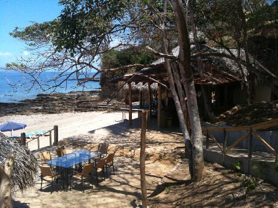Isla Saboga: View of the beach