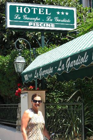 In front of La Garoupe Gardiole