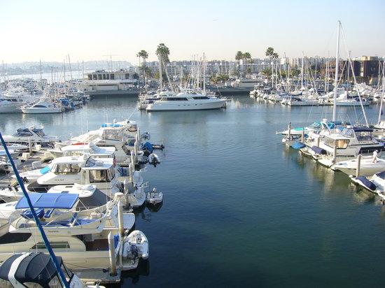 Marina del Rey, แคลิฟอร์เนีย: ベランダからの眺め 中央