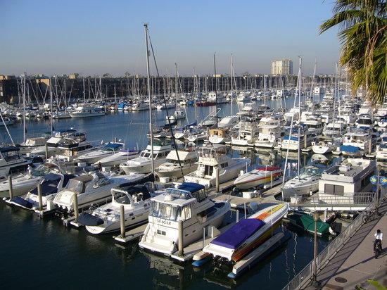 Marina del Rey, Kalifornien: ベランダからの眺め 右