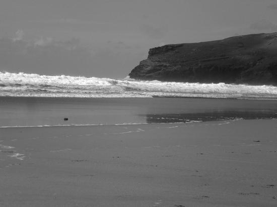 Bedlam House: local beach