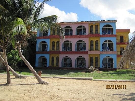 Playa Ancon, Kuba: notre block