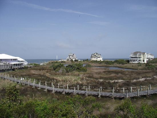 The Villas of Hatteras Landing: the view