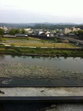 Ayu no Sato: 客室からの眺めです、癒されました