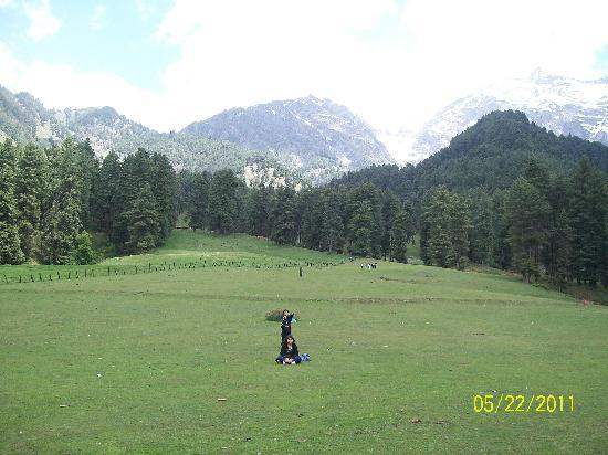 Pahalgam, India: aru valley