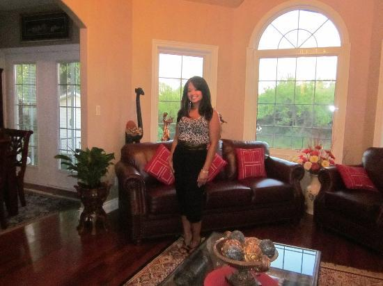 Graystone Bed and Breakfast: Me on my Birthday!  What a lovely home away from home!