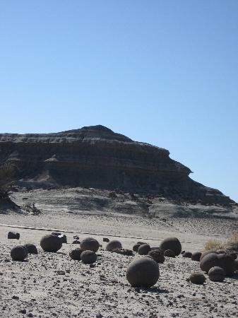 Parque Provincial Ischigualasto: Cancha de bochas