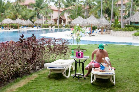 Majestic Colonial Punta Cana : Swim out room