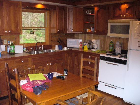 Barnett Cabin Rentals: Inside the cabin