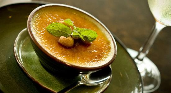 Hanuman Restaurant: Signature Dish- Black Rice Brulee
