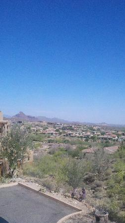 Fountain Hills, AZ: View from our room