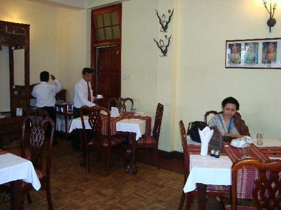 Royal Heritage-Tripura Castle: The dining room