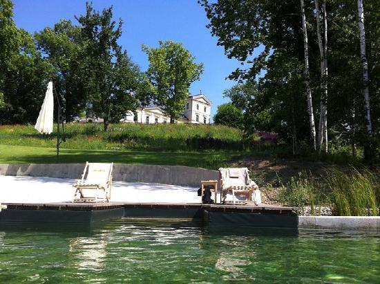 Chateau Mcely: Teich.