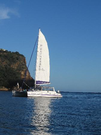 Книсна, Южная Африка: A unforgettable sailing experience for young and old
