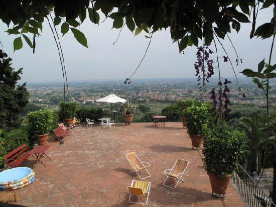 Villa Sermolli: amazing view ...