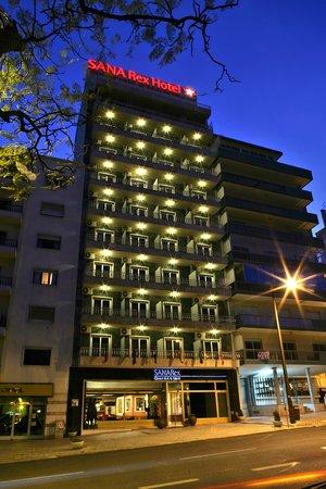 SANA Rex Hotel: Hotel Exterior