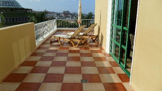 Jardines de Nivaria - Adrian Hoteles: terrasse junior suite