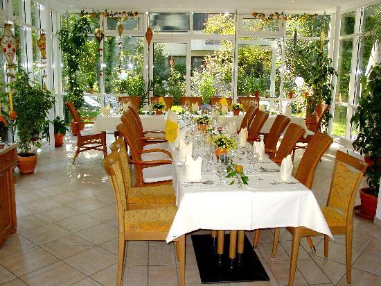 Hotel Christine: Frühstücksraum