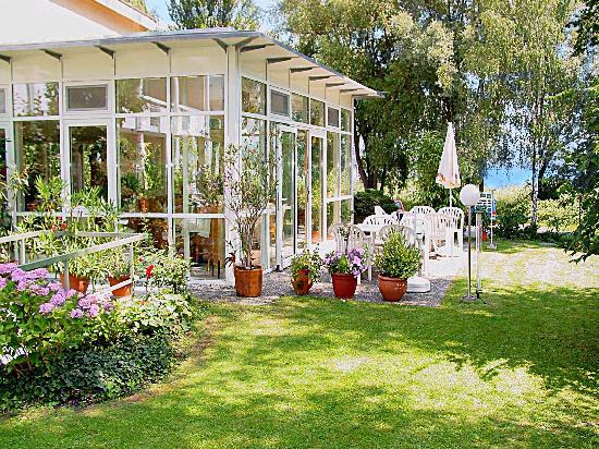 Hotel Christine: Wintergarten/Frühstücksraum