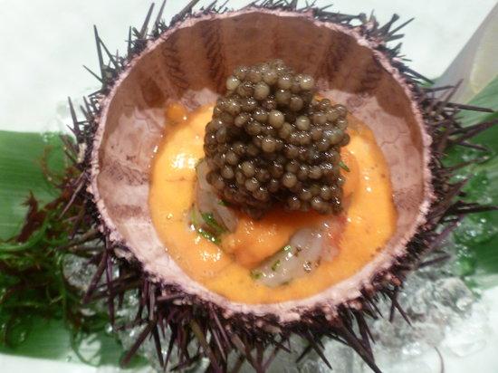 Waku Ghin: One of the Signature dish