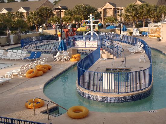 Surfside Beach, Carolina Selatan: kids pool area closed