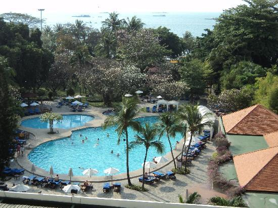 Montien Hotel Pattaya: view from 5th floor room