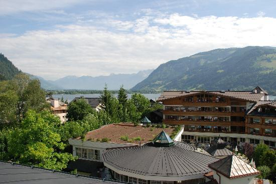 Hotel Tirolerhof : View from Roof-top Spa