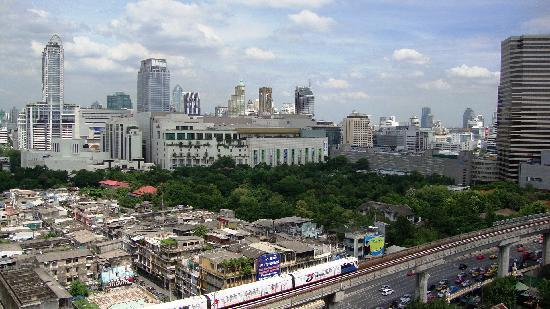 Evergreen Place Bangkok : city view from room