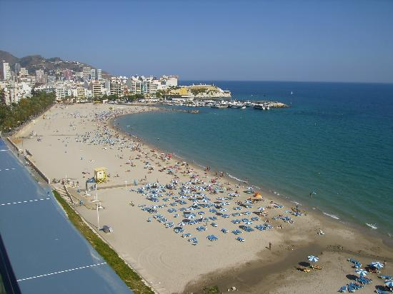 Villa Del Mar Hotel : playa