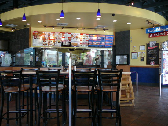 Interior of Salisbury KFC / Long John Silvers - Picture of Long ...