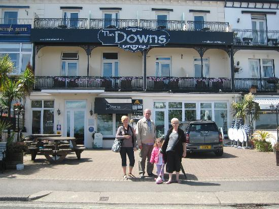 ‪‪The Downs, Babbacombe‬: Hotel Front‬
