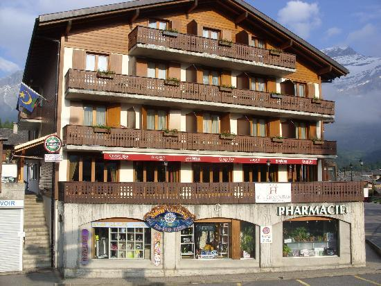 Hotel Le Chamois: Hotel Le Chamonis